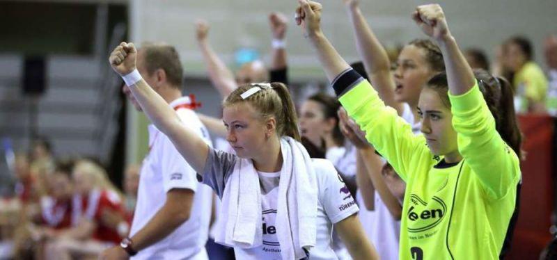 Erfolgreicher Start in die U18-WM: DHB-Mädchen schlagen Österreich