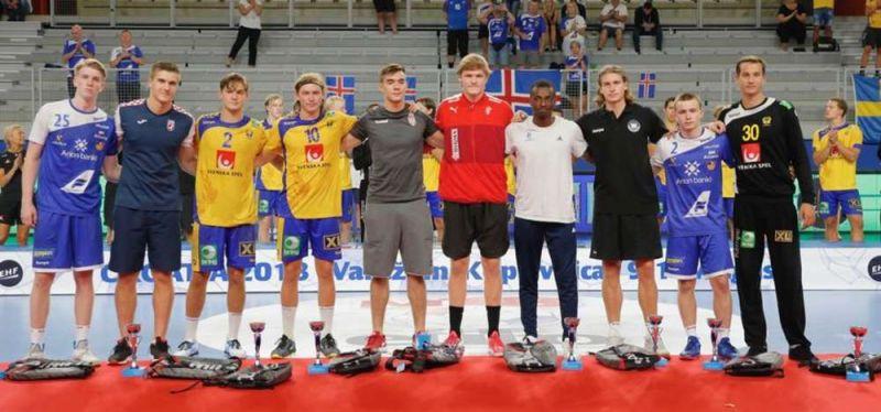 Juri Knorr im All-Star-Team der U18-Europameisterschaft