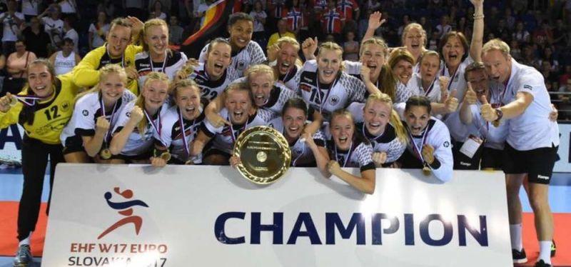 Gold, Gold, Gold: Deutschland ist U17-Europameister!