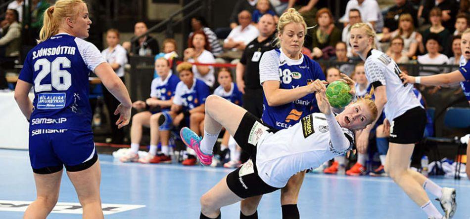 DHB-Frauen feiern zum Abschluss der EM-Qualifikation Kantersieg gegen Island