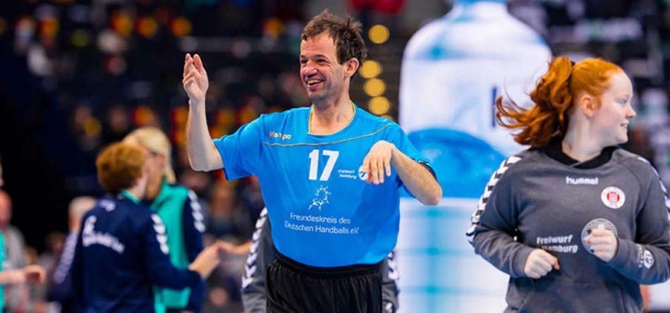 """Inklusiver Handball beim """"Tag des Handballs"""": Nicht nur für die Aktiven ein Höhepunkt"""