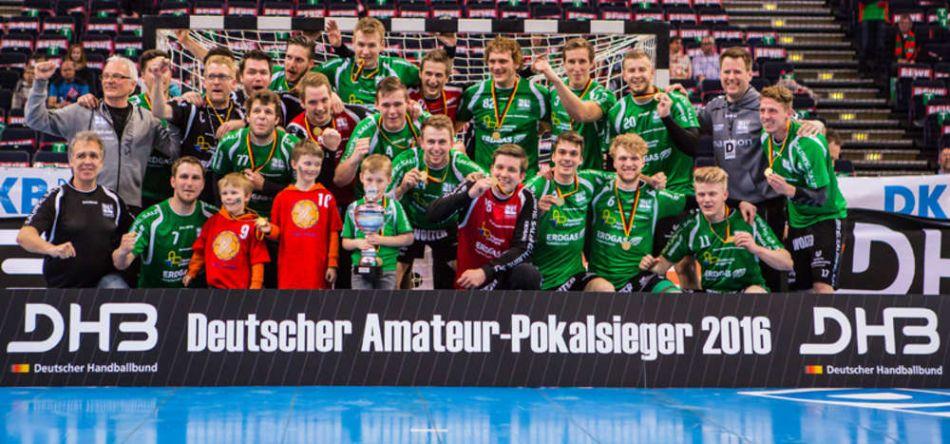 Die SG Langenfeld 92/72 ist Deutscher Amateurpokalsieger 2016