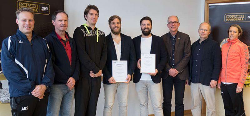 Relevante Impulse für den Sport: DHB vergibt erstmals Förderpreise an Hochschulabsolventen