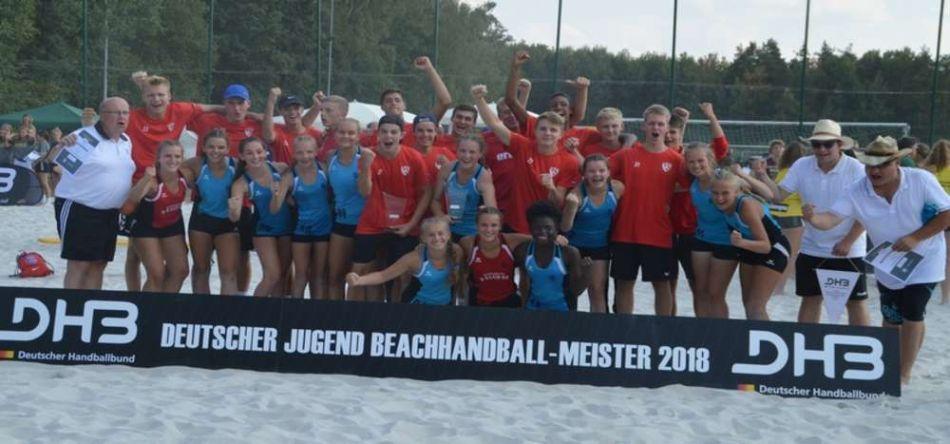 Beach-DJM: Beach Bazis verteidigen den Titel, HC Bremen siegt bei den Jungen