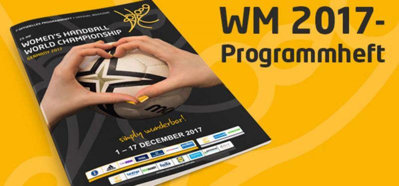 WM 2017: Programmheft online verfügbar