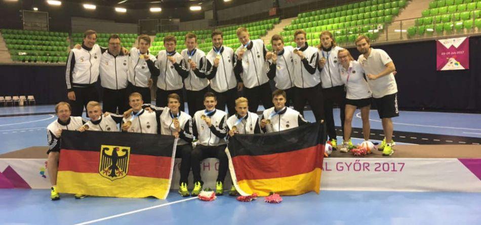 U17 gewinnt Gold beim European Youth Olympic Festival
