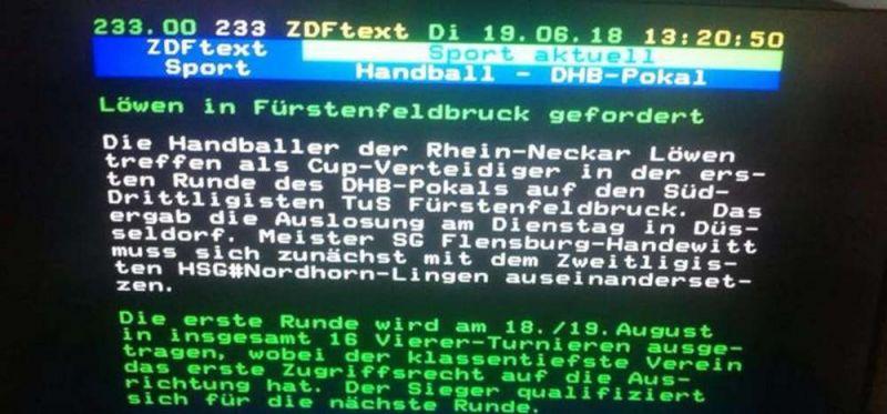DHB-Pokal: Traumlose für TuS Fürstenfeldbruck, SG Schalksmühle Halver und Northeimer HC