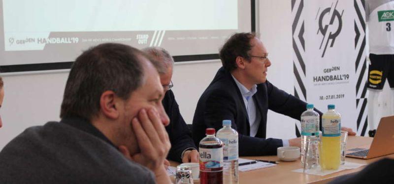 DHB-Workshop zur WM 2019: LOKs zu Besuch in Dortmund