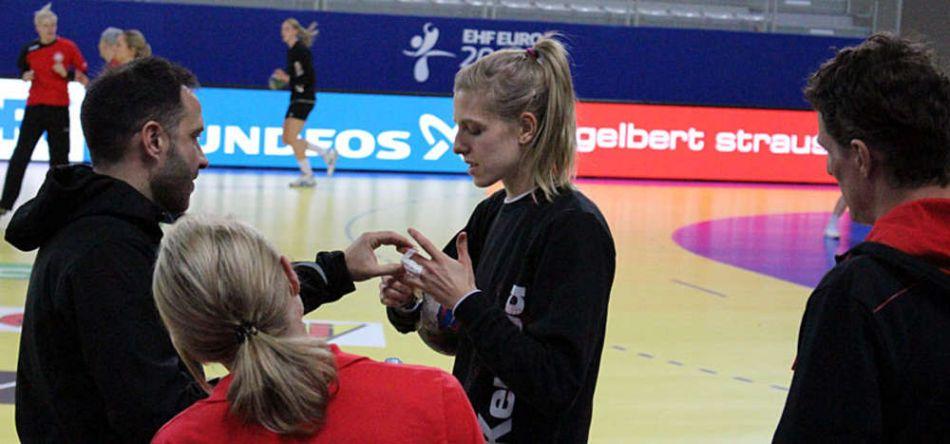 Susann Müller rückt für Xenia Smits ins DHB-Team für #GERCRO
