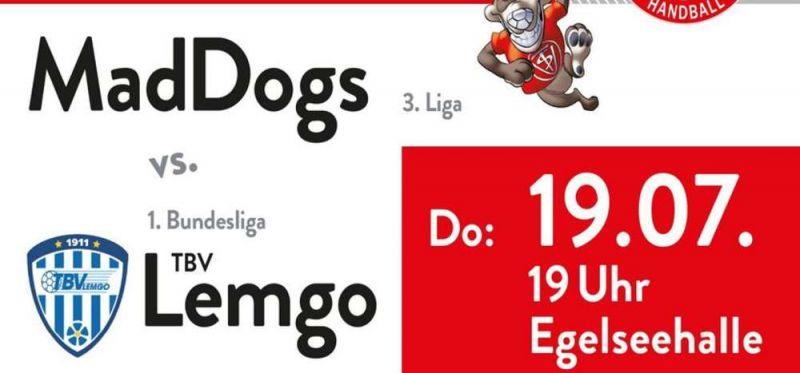 Traditionsverein TBV Lemgo kommt zum Topspiel zu den MadDogs