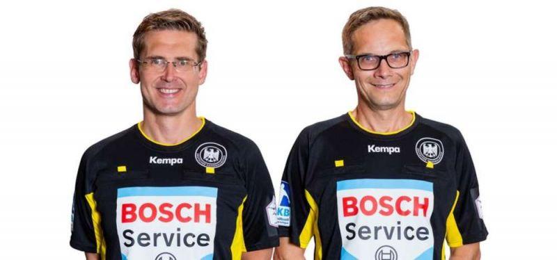 DHB-Schiedsrichter und Offizielle im dreifachen Champions-League-Einsatz