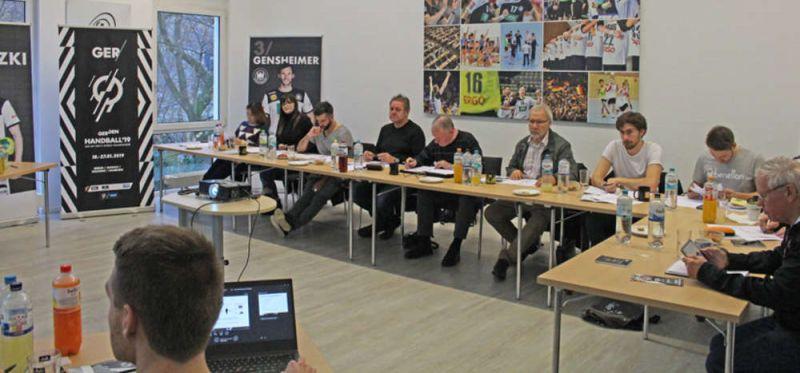 WM 2019: Team Guide-Schulung in der DHB-Geschäftsstelle
