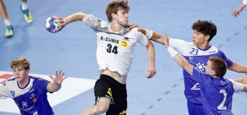 Trotz Aufholjagd: Deutsche U18 verliert bei EM 22:23 gegen Island