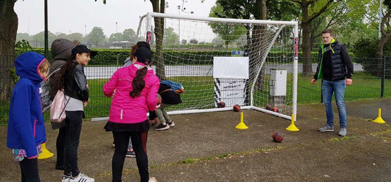 Girls Day: Junge Engagierte unterstützen Aktion am Olympiapark in Berlin