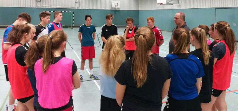 Im niedersächsischen Lastrup: Ausbildung zum Schulsportassistenten mit 18 Teilnehmern