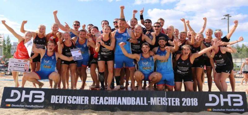 Beach-DM: Strandgeflüster und Beach and da Gang sind Deutscher Meister 2018