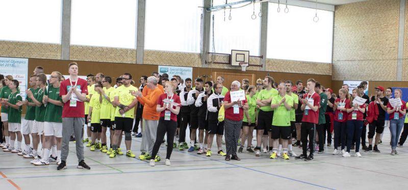 """Start der Handball-Wettbewerbe bei Special Olympics: """"Wir hoffen auf spannende Spiele"""""""