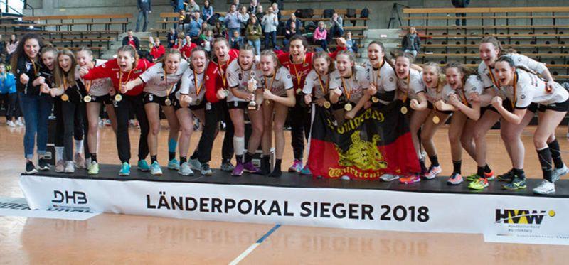 """Deutschland-Cup weibliche Jugend: Württemberg bittet in das """"Schaufenster für den Handball-Nachwuchs"""""""