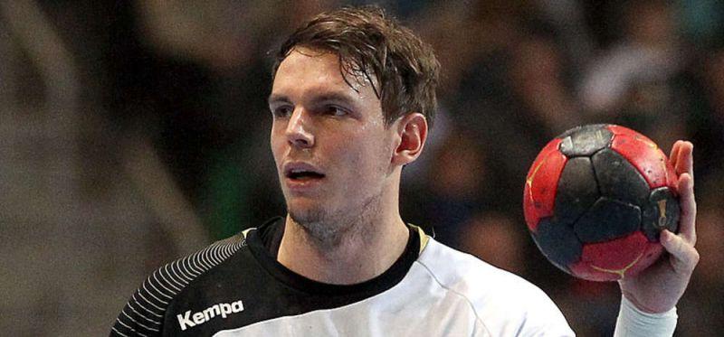 Linkshänder Kai Häfner gegen Island im DHB-Team