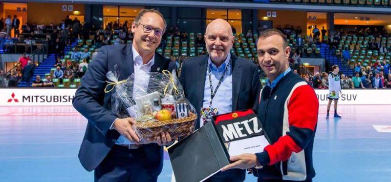 Nach 350 Länderspielen: Dirk Metz als DHB-Hallensprecher verabschiedet