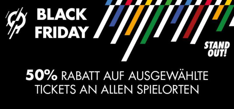 """Der """"Black Friday"""" macht es möglich: 50% Rabatt auf WM-Tickets"""