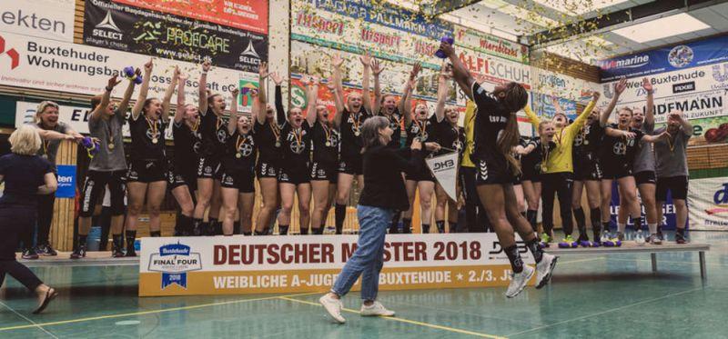 DM weibliche A-Jugend: Bayer Leverkusen ist Deutscher Meister 2018