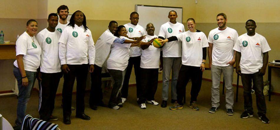 St. Pauli Handball besucht PLAY HANDBALL ZA
