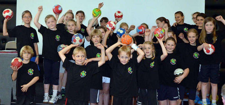 """Kinderhandball-Lied: """"Kleine Hände - großes Spiel"""""""