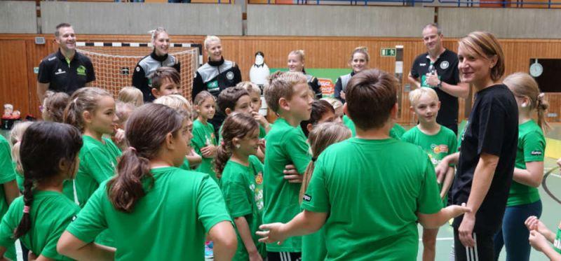 AOK-Startraining: Frauenpower, ein Nationalcoach und zwei WM-Botschafter zum Abschluss