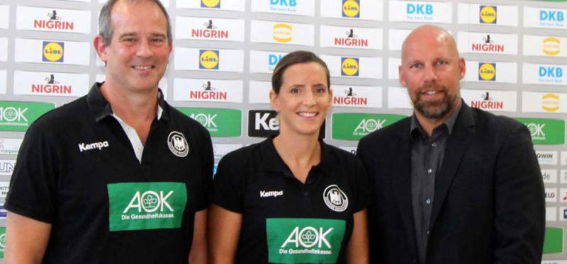Nordhausen und der DHB freuen sich auf den Test gegen den Olympiasieger