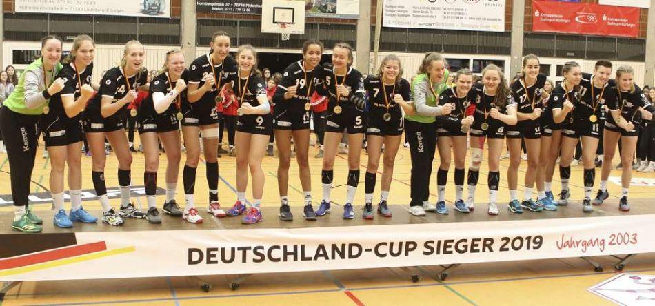 Deutschland-Cup der weiblichen Jugend: Baden-Württemberg I gewinnt das Finale gegen Westfalen