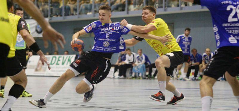 HSG Hanau unterliegt Bruchköbel im hitzigen Derby