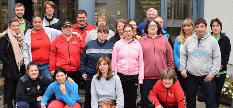 Special Olympics Deutschland: Frauen-Mannschaft bereitet sich bei der TS Durlach auf die Weltspiele in Abu Dhabi vor