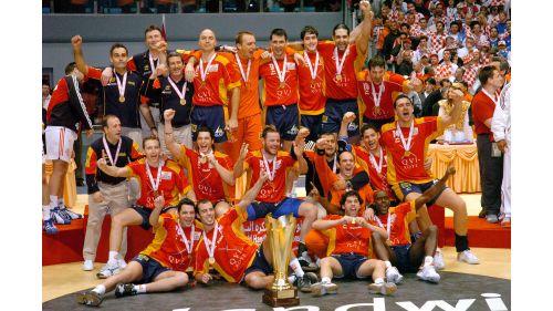 2005 in Tunesien: Spanien - Kroatien 40:34
