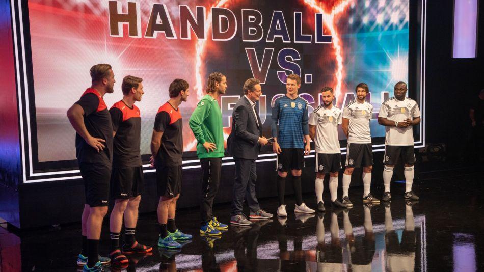 TV-Tipp am Samstag: Handball trifft auf Fußball