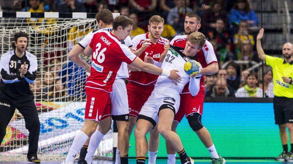 Handballer verlieren gegen die Schweiz