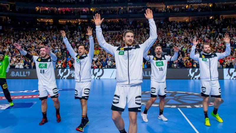 Handballer sind Sportler des Monats Januar