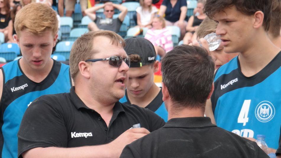 """""""Viele Möglichkeiten"""": DHB-Beach-Trainer Bansa im Interview"""