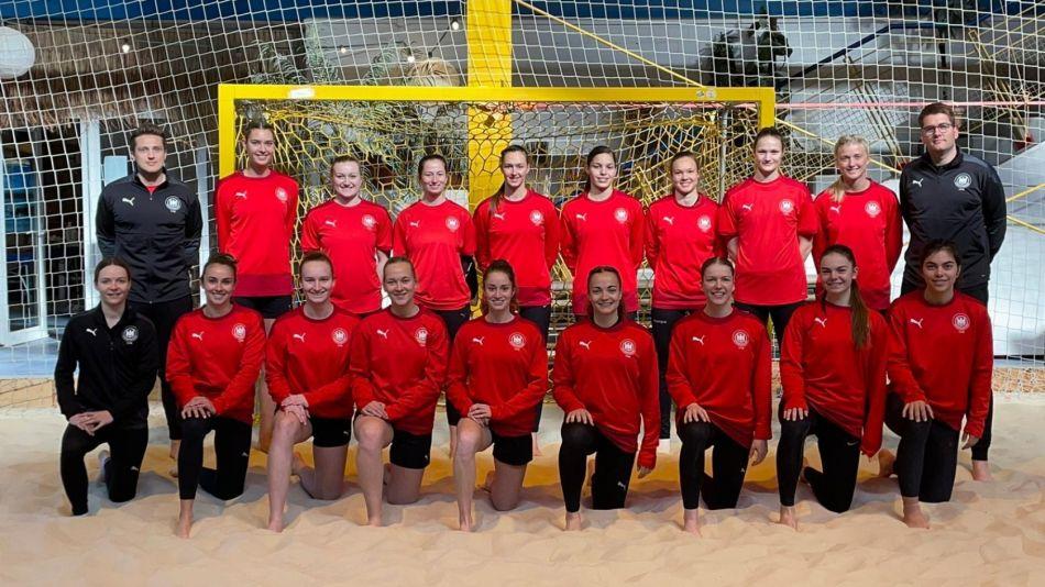 Frauen bereiten sich in Spanien auf die Europameisterschaft vor