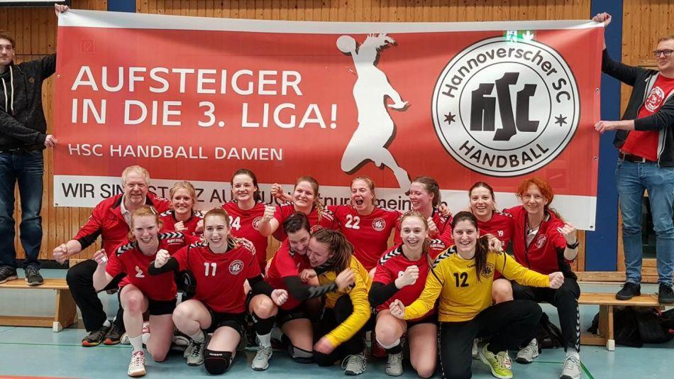 Hannoverscher HC ist drittklassig – Region Hannover nun mit fünf Drittligisten