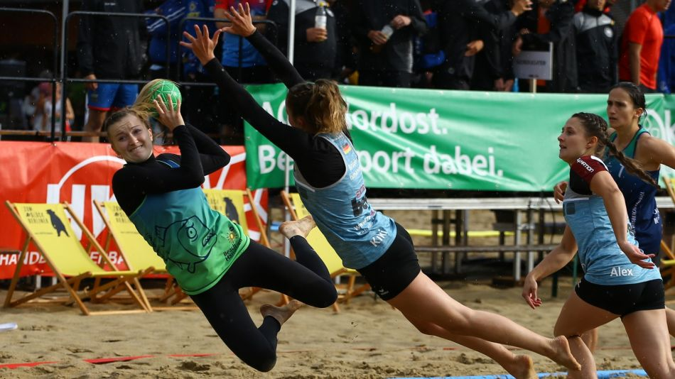 Deutsche Meisterschaften im Beachhandball gestartet