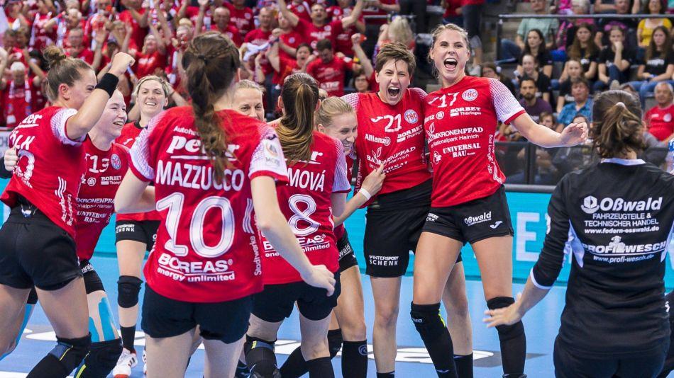 Pokal: Thüringen gegen Bietigheim im Finale