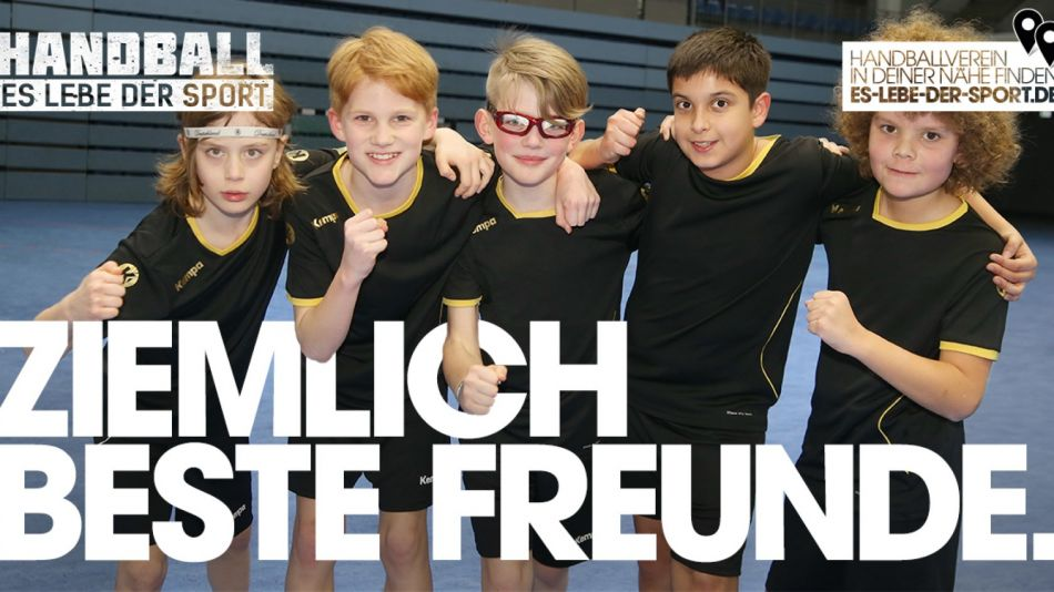 """Es lebe der Sport: Die Kampagne des deutschen Handballs präsentiert neue Motiv-Kollektion mit Fokus """"Nachwuchs"""""""