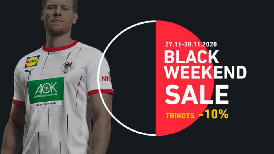 Black Friday Aktion im DHB Online-Shop